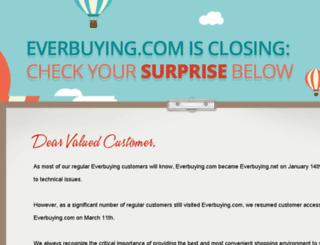 user.everbuying.com screenshot
