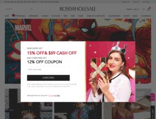 user.rosewholesale.com screenshot