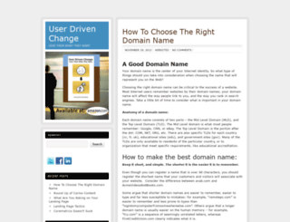 userdrivenchange.com screenshot