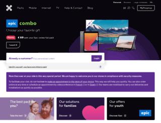 users.belgacom.net screenshot