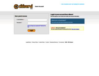 users.citiservi.com screenshot