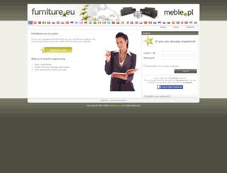 users.furniture.eu screenshot