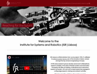 users.isr.ist.utl.pt screenshot