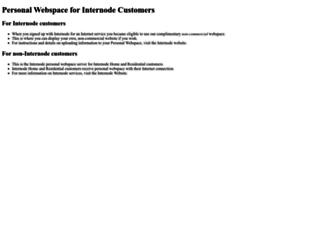 users.on.net screenshot