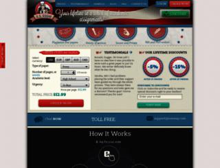 usessay.com screenshot