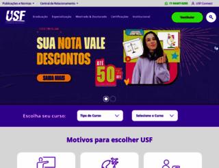 usf.edu.br screenshot