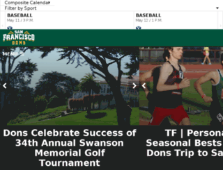 usfdons.cstv.com screenshot
