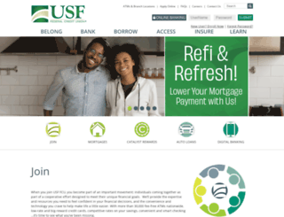 usffcu.org screenshot
