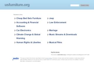 usfurniture.org screenshot