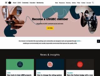 usgbc.org screenshot
