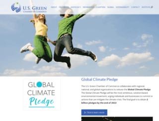 usgreenchamber.com screenshot