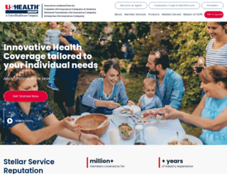 ushealthgroup.com screenshot