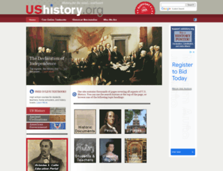 ushistory.org screenshot