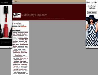 ushistorysite.blogspot.com screenshot