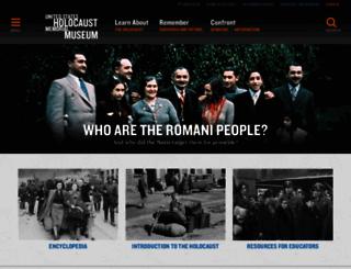 ushmm.org screenshot