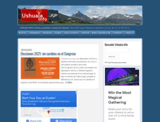 ushuaia-info.com.ar screenshot