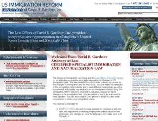 usimmigrationreform.com screenshot