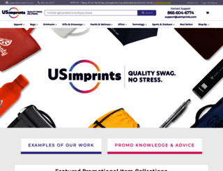 usimprints.com screenshot