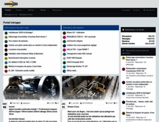 usinages.com screenshot