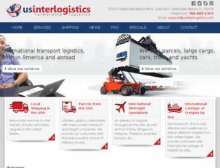 usinterlogistics.com screenshot