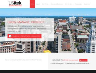 usitek.com screenshot