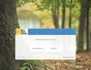 usiu-csm.symplicity.com screenshot