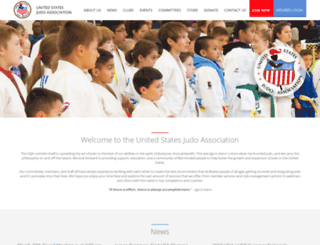 usja-judo.org screenshot