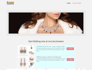 usjewelryliquidation.com screenshot
