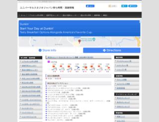 usjinfo.com screenshot