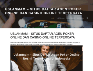 uslanmam.com screenshot