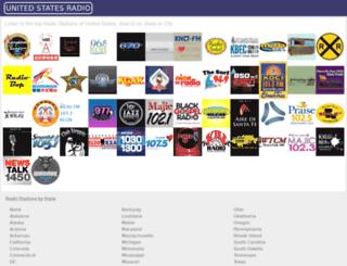 usliveradio.com screenshot
