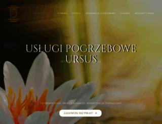 uslugipogrzeboweursus.pl screenshot