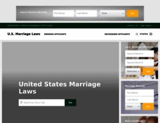 usmarriagelaws.com screenshot
