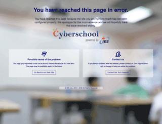 usmb.iescentral.com screenshot