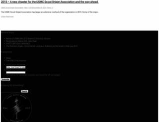 usmcscoutsniper.org screenshot