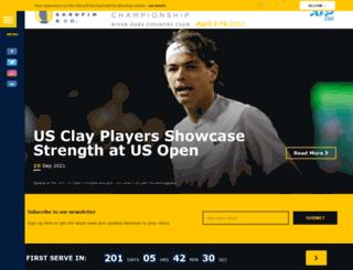 usmensclaycourt.com screenshot