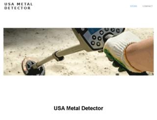 usmetaldetector.com screenshot
