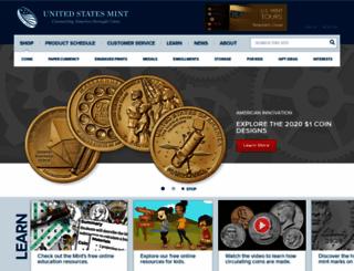 usmint.com screenshot