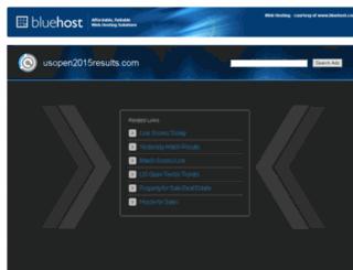 usopen2015results.com screenshot