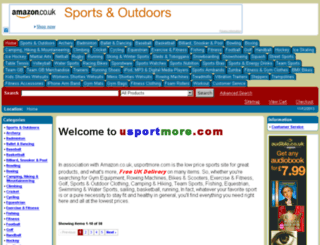 usportmore.com screenshot