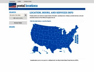 uspspostoffices.com screenshot