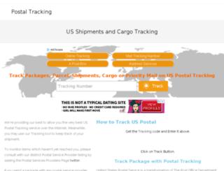 uspstrackingservice.com screenshot