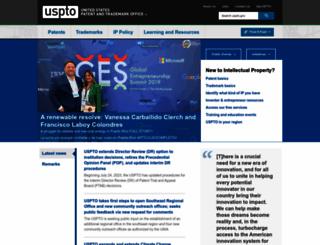 uspto.gov screenshot