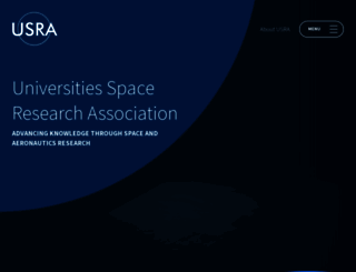 usra.edu screenshot