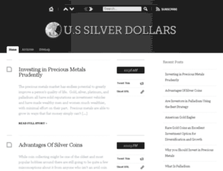 ussilverdollars.org screenshot