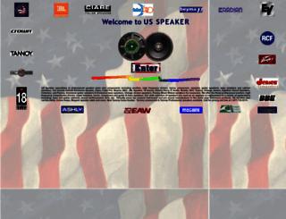 usspeaker.com screenshot