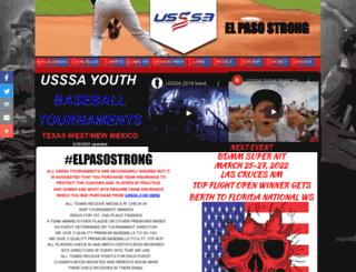 usssabaseballnewmexico.com screenshot