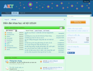 ussuh.edu.vn screenshot