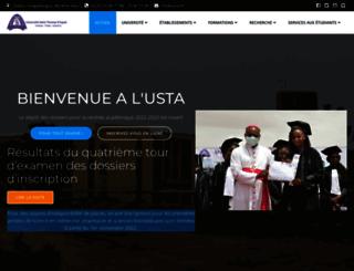 usta.bf screenshot