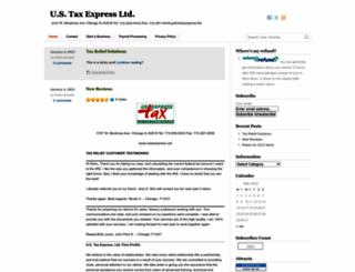 ustaxexpress.net screenshot
